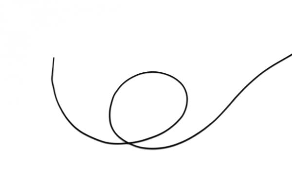 Rundschnur Ø1,5 mm, aus FKM, Shore-A=80° ± 5°