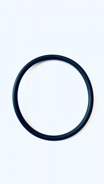 O-Ring 120 X 5 mm, aus Silikon (MVQ/VMQ), Shore-A=70° ± 5°, Lebensmittelqualität/FDA Konform, rot