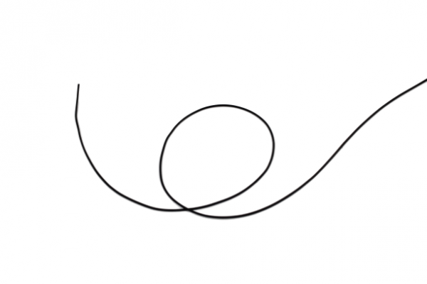 Rundschnur Ø2,5mm, aus Silikon, Shore-A=70° ± 5°