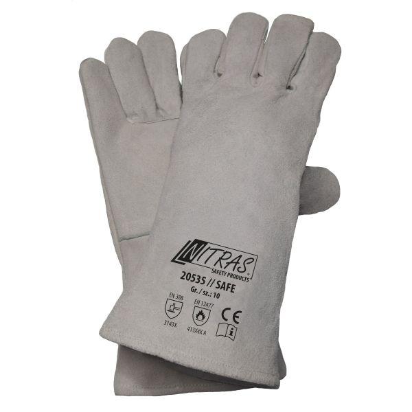 NITRAS SAFE, 5-Finger-Schweißerhandschuhe (amerikanischer Sicherheitsschweißer)