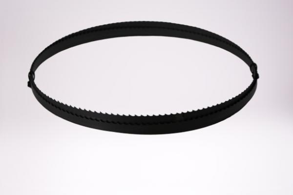 Bimetall-Sägeband 27 X 0,90 mm, aus HSS-Biflex M42 (1.3247), 4 ZpZ, Klauenzahn, Bandlänge=3160 mm