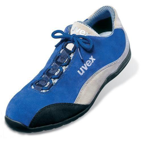 Halbschuh, UVEX Modell 9495/9, blau/weiß, Weite 11