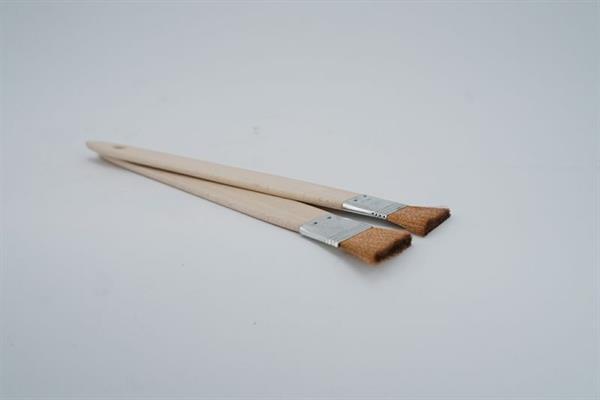 "Bronze-Draht-Pinsel 1½"", mit langem Stiel, Länge ca. 420 mm"