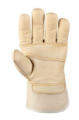 Möbelleder-Handschuhe HELLES LEDER TeXXor Modell 1165
