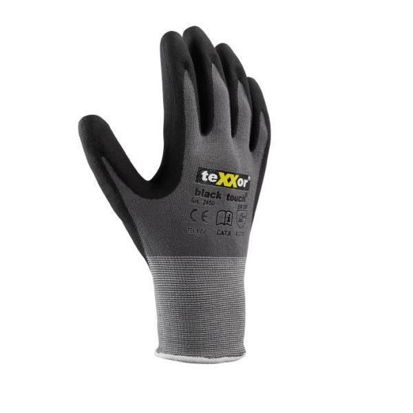 Montagehandschuhe BLACK TOUCH® TeXXor Modell 2450