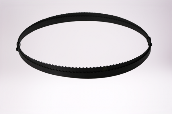 Bimetall-Sägeband 13 X 0,90 mm, aus HSS-Biflex M42 (1.3247), 4 ZpZ, Klauenzahn, Bandlänge=3200 mm