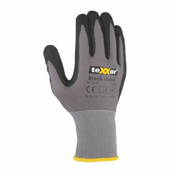 Montagehandschuhe BLACK TOUCH® TeXXor Modell 2452