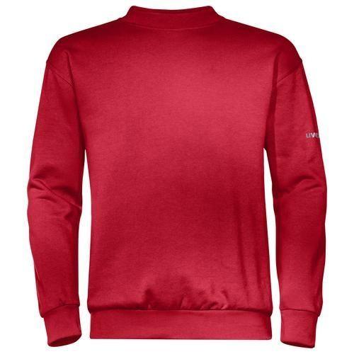 Sweat-Shirt, UVEX Modell 7458, rot