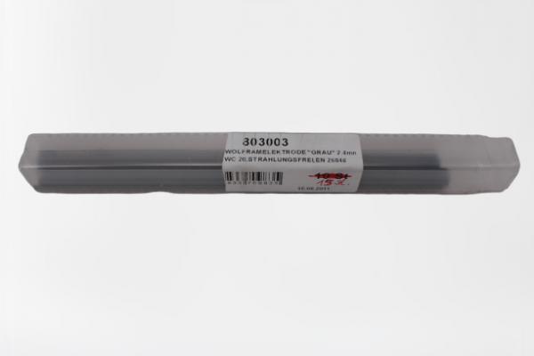 Wolfram-Schweißelektrode grau 2,4 mm