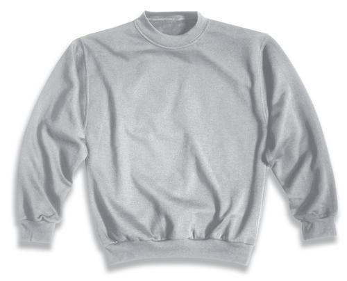 Sweat-Shirt, UVEX Modell 749, ash-melange