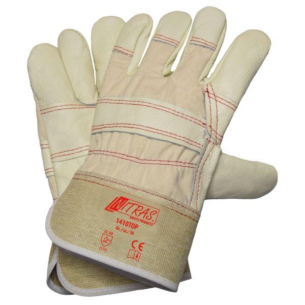 NITRAS Polsterlederhandschuhe