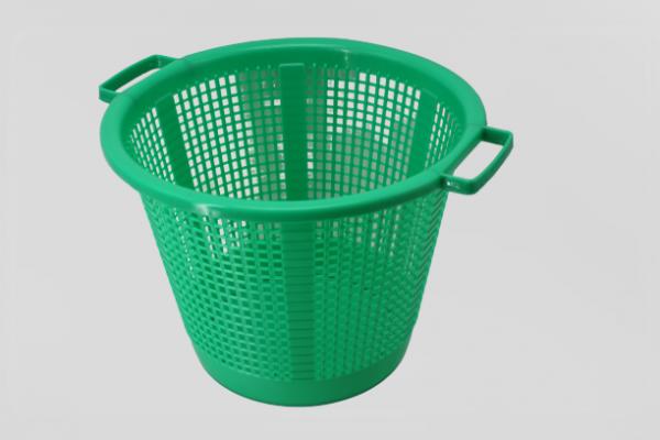 Korb Nr. 4, aus Kunststoff, grün