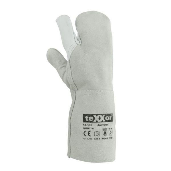 3-Finger Schweißerhandschuhe TeXXor Modell SANTORIN