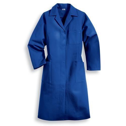 Damen Mantel 1/1 Arm, Uvex Modell 239, kornblau
