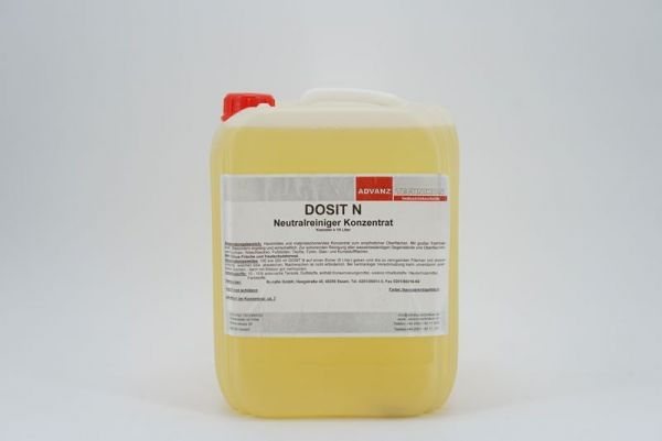 Advanz Dosit N, schonender Neutralreiniger für empfindliche Oberflächen