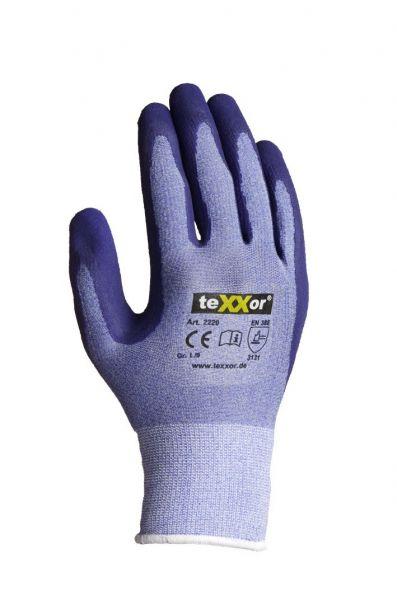 Polyester-Strickhandschuhe LATEX TeXXor Modell 2229
