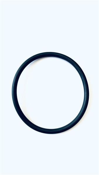 O-Ring 115 X 5 mm, aus Silikon (MVQ/VMQ), Shore-A=70° ± 5°, mit nahtloser FEP-ummantelung, Shore-A=9