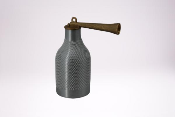 Reilang Blaszerstäuber für Druckluft, Alu-Behälter=500 ml. (Größe 1), Düsen-Ø1,5 mm, Oberteil und Bl