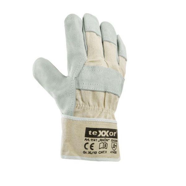 TOP Rindkernspaltleder-Handschuhe RHÖN TeXXor Modell 1141