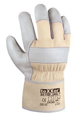 Rindvollleder-Handschuhe URAL I TeXXor Modell 1159