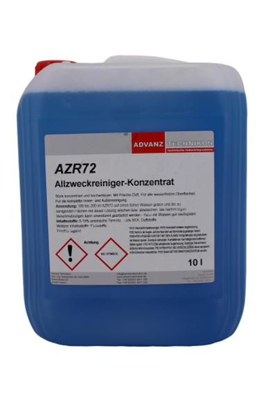 AZR72, Allzweckreiniger, VE Kanister à 10 Liter