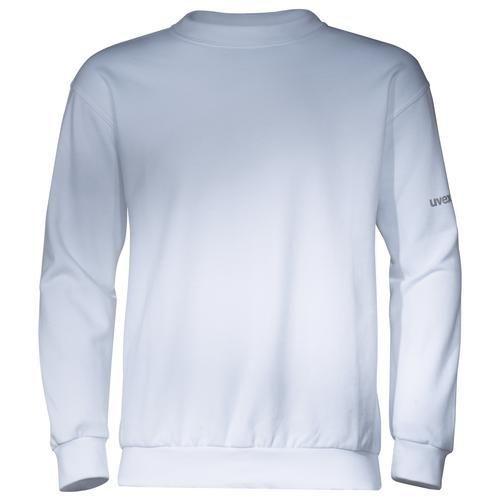 Sweat-Shirt, UVEX Modell 7458, weiß
