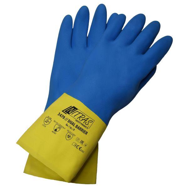 NITRAS DUAL BARRIER Chemikalienschutzhandschuhe