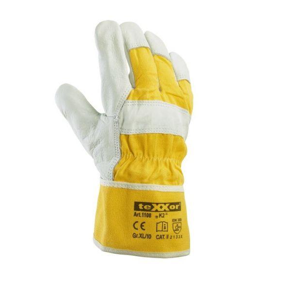 TOP Rindvollleder-Handschuhe K2 TeXXor Modell 1108