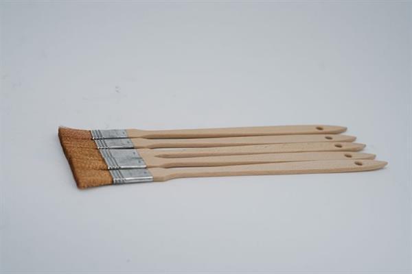"Bronze-Draht-Pinsel ¾"", mit langem Stiel, Länge ca. 320 mm"