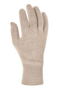 Baumwolltrikot-Handschuhe, TeXXor, mit Strickbund LEICHT